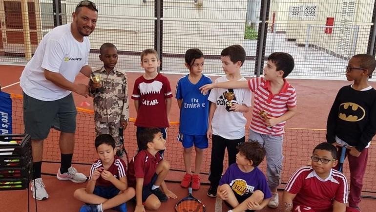 Training session at ACS Doha International School